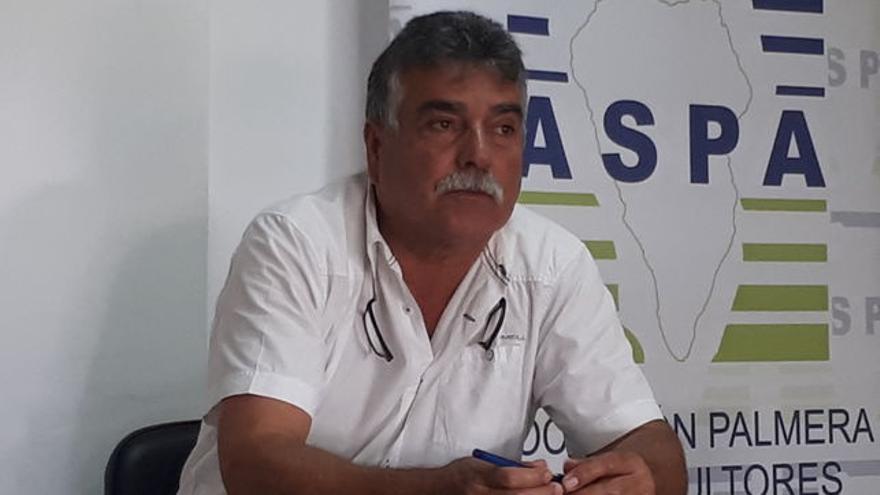 Miguel Martín es presidente de la Asociación Palmera de Agricultores y Ganaderos (Aspa).