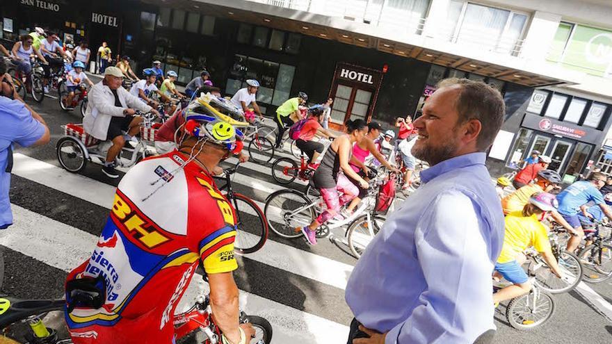 Fiesta de la Bicicleta de Las Palmas de Gran Canaria.