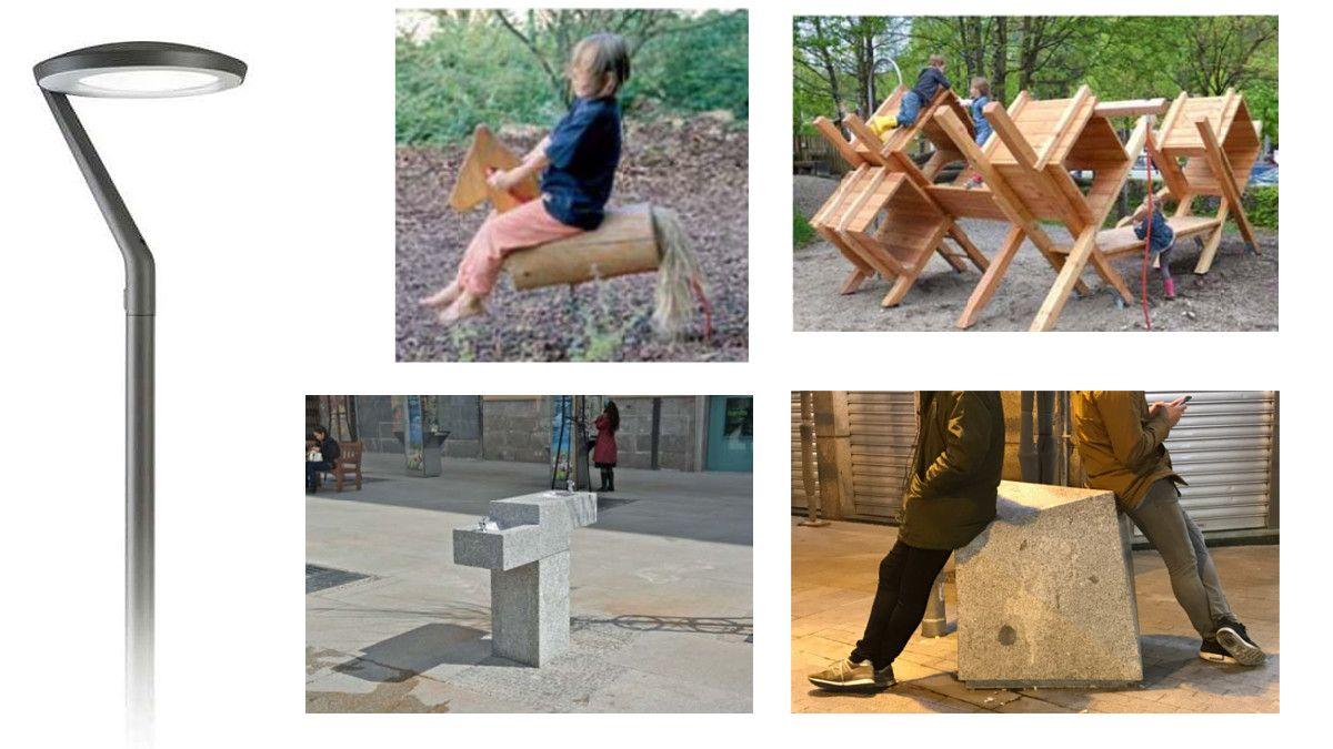 Nuevo mobiliario para la Plaza de Pedro Zerolo | AYUNTAMIENTO DE MADRID