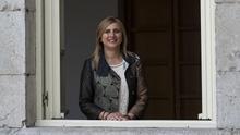 La secretaria de Organización del PSOE, Noelia Cobo.   JOAQUÍN GÓMEZ SASTRE