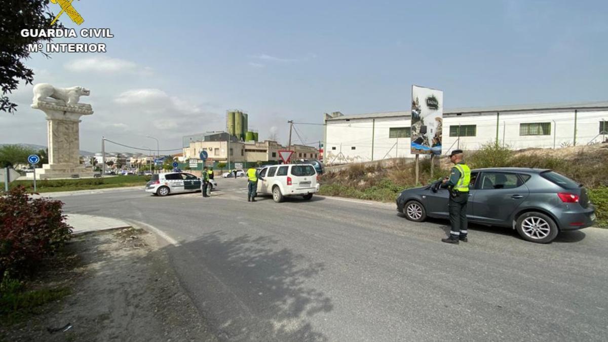 Puesto de la Guardia Civil en Baena.