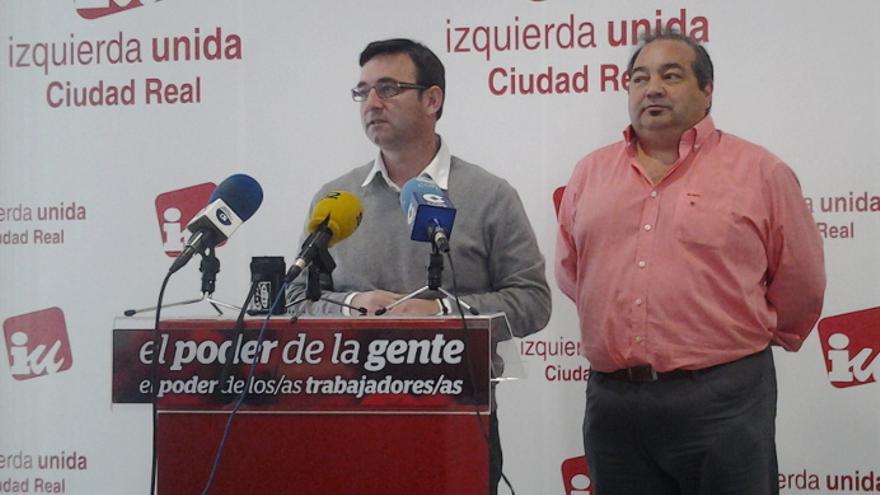 Daniel Martínez y Miguel Ramírez, de Izquierda Unida