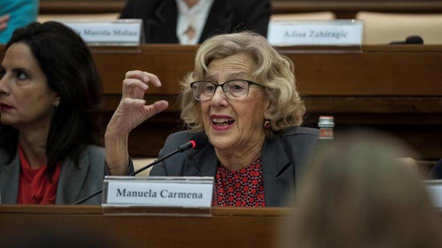 """Carmena dice que Montoro """"está aplicando mal"""" la ley al tutelar las cuentas"""