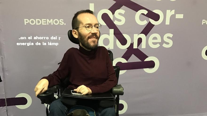 """Echenique cree que el PP usa la muerte de Barberá para """"dar pasos atrás"""""""