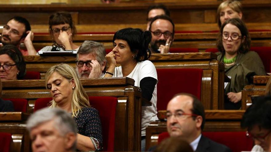 """La CUP destaca su """"plena sintonía"""" con Puigdemont respecto al referéndum"""