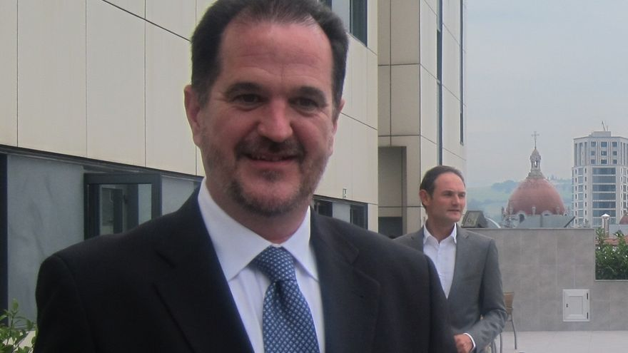 El nuevo candidato del PP a las elecciones vascas, Carlos Iturgaiz.