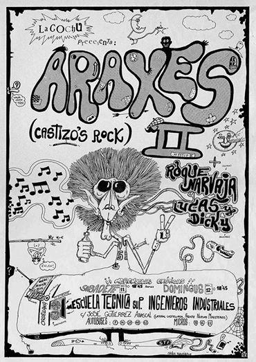 1978. Cartel de concierto LaCochu | Facebook de Peijo https://www.facebook.com/pejoide