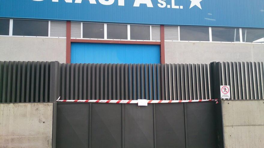 Instalaciones de la empresa Unaspa.