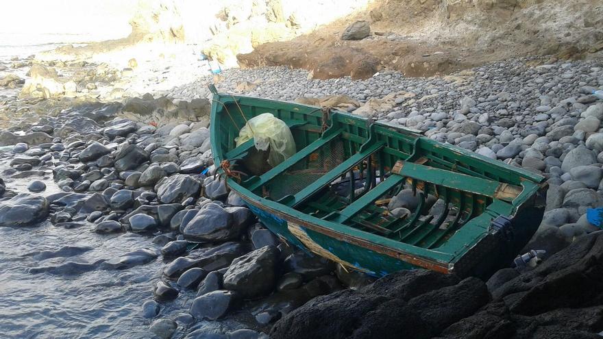 Patera llegada al sur de Gran Canaria