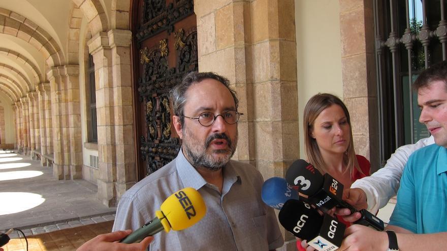"""Baños (CUP) dice que Mas """"chantajeó"""" a ANC y Òmnium con no convocar el 27S"""