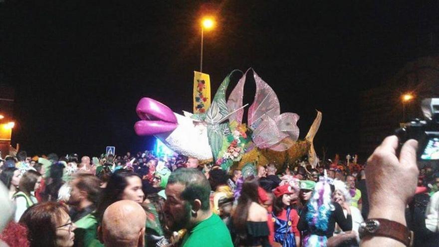 Imagen de archivo de la Fiesta de la Sardina del Carnaval de San Andrés y Sauces.
