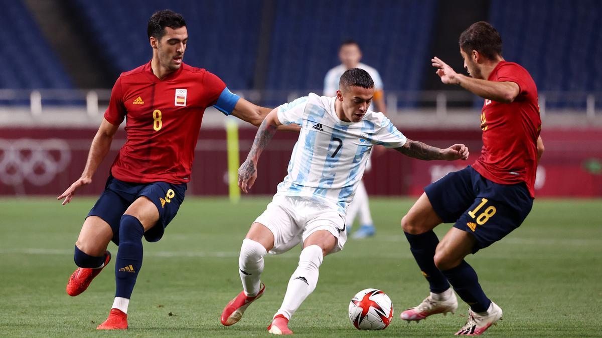 Argentina igualó con España y se despidió de Tokio 2020.