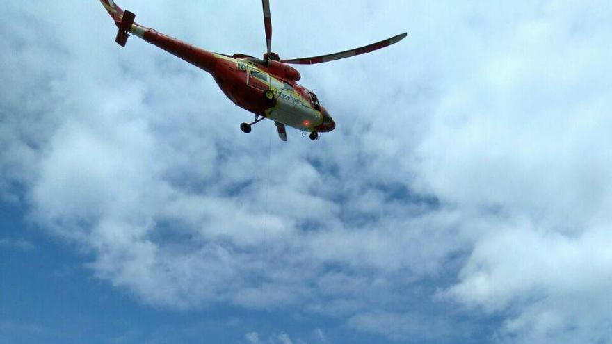 Rescate de un hombre en Tenerife