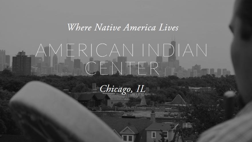 Web del Centro Indígena Americano de Chicago