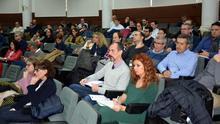 Asistentes a la reunión del Consejo de Gobierno de la UCLM, este jueves