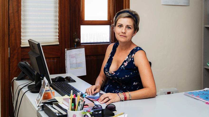 Yaiza Cáceres, concejala de Servicios Sociales del Ayuntamiento de Tijarafe.