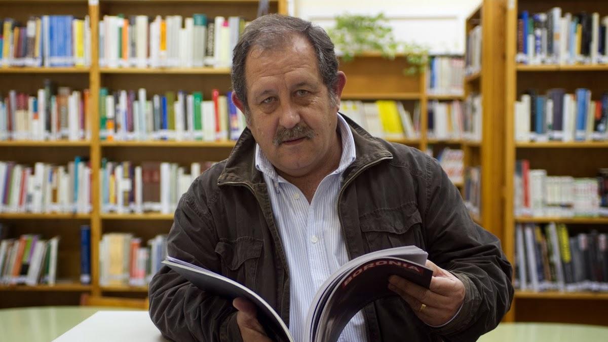 El poeta Fernando Sánchez Mayo.