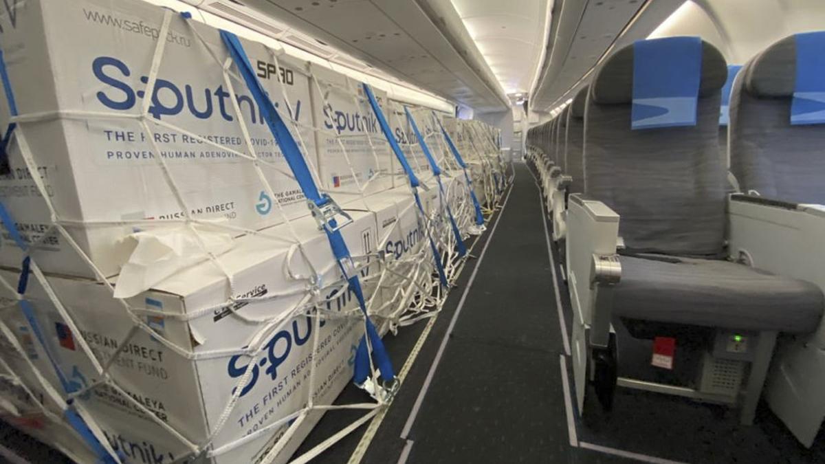 Argentina recibiría insumos para fabricar 1.700.000 dosis 2 de Sputnik V