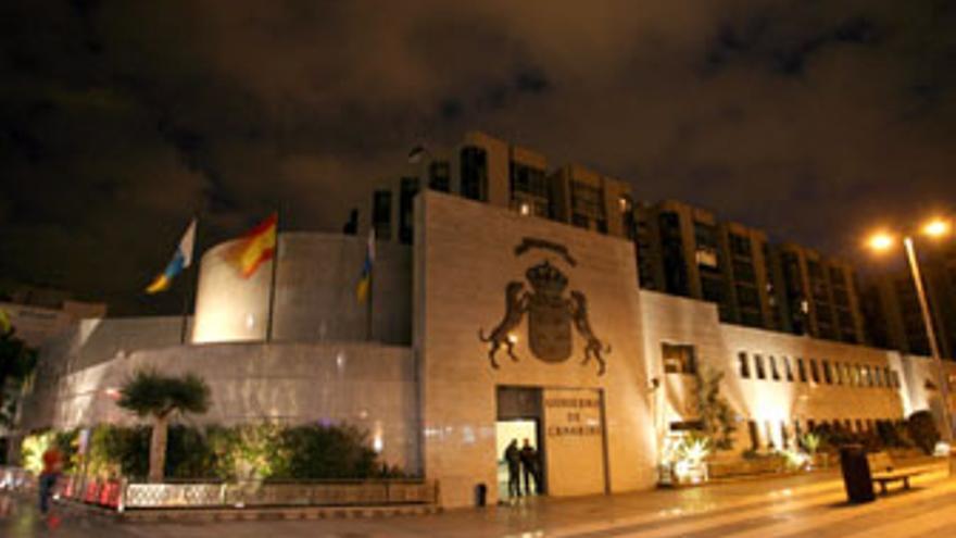 Sede de la Presidencia del Gobierno regional en la capital grancanaria.