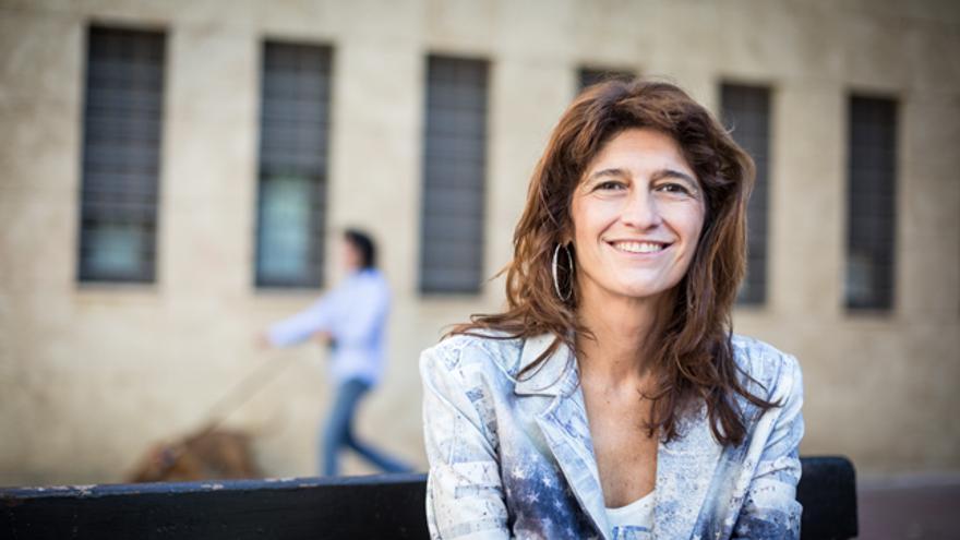 Carmen Dueso, candidata a la Secretaría general del PSOE en Aragón.