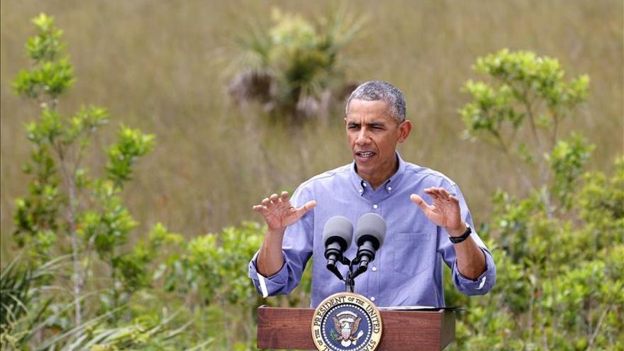 Obama reitera que negar el cambio climático pone en riesgo la seguridad de EE.UU.