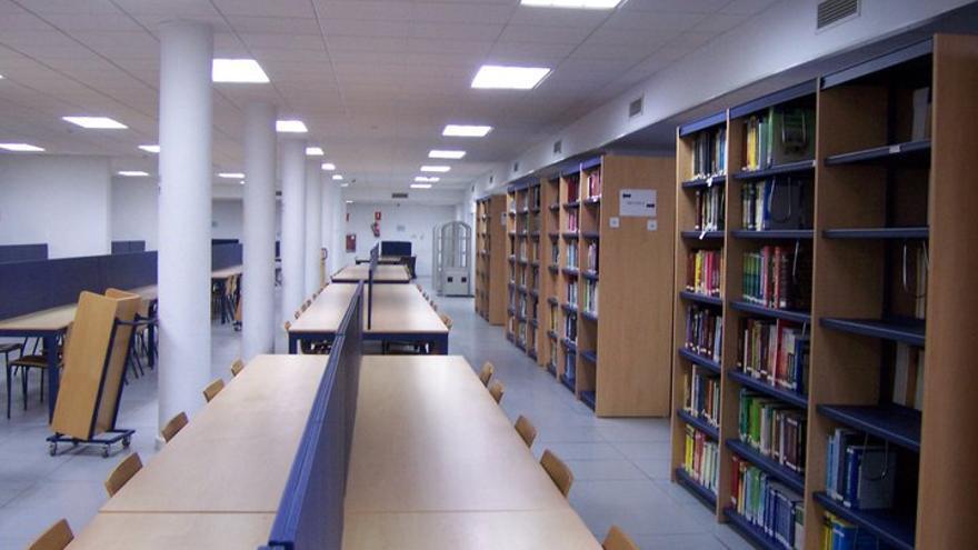Biblioteca del Campus de Algeciras.