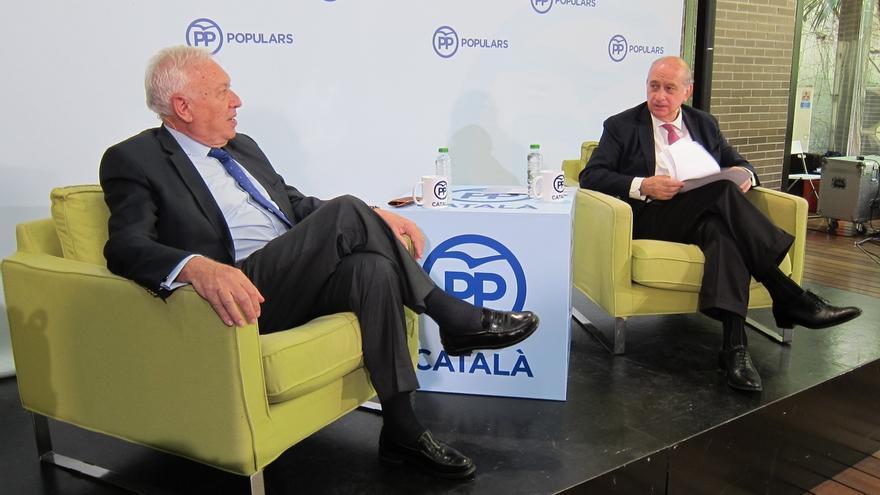 El ministro Margallo compara el derecho a decidir que defiende Podemos con el ideario de Lenin y Stalin