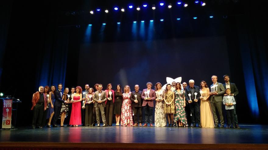 Galardonados en los Premios Azahar