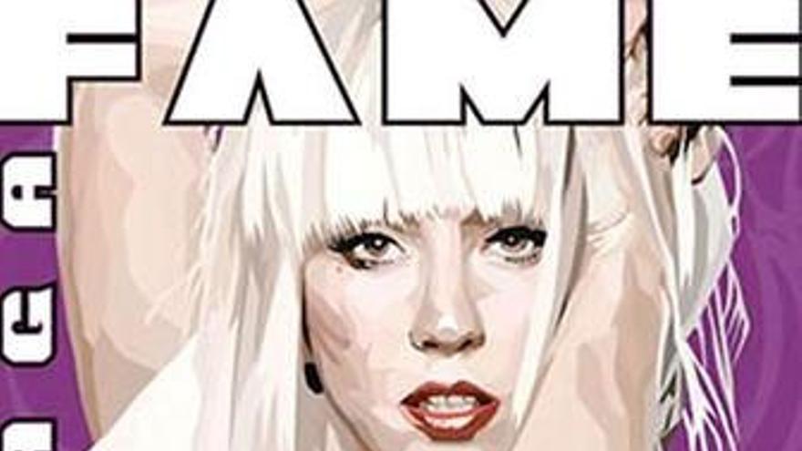 Lady Gaga, convertida en cómic. (EUROPA PRESS)