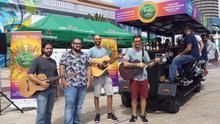 El  pop tropical de los grancanarios 'Playacoco' cierra  el 'LPA Beer & Music Festival'