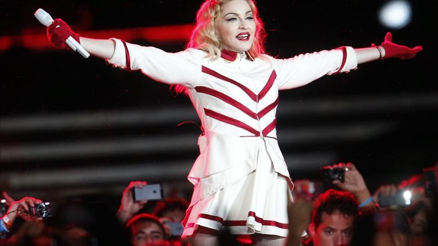 Demandan a productora por atraso en el concierto de Madonna en Chile