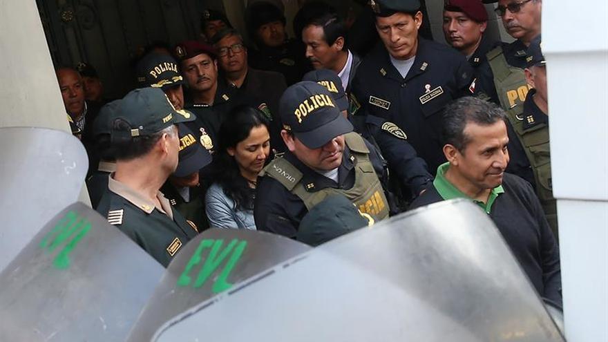 La audiencia de apelación contra la detención de Humala y Heredia será el lunes 31 de julio