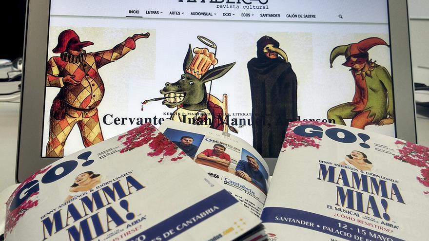 Acuerdo eldiario.es Cantabria con la Revista Amberes y Guía Go Cantabria