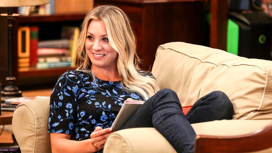 Kaley Cuoco en una escena de 'The Big Bang Theory'