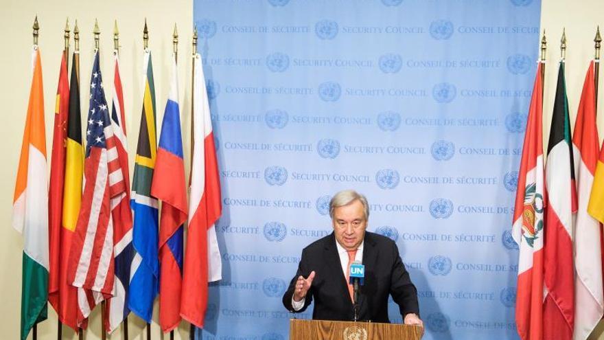 Guterres pide actuar para revertir la crisis climática tras el mes más caluroso