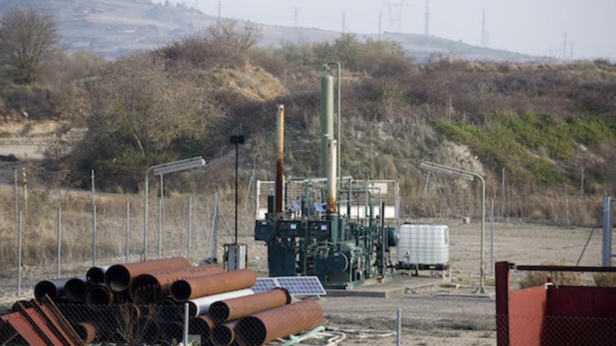 El pozo de gas de Subijana