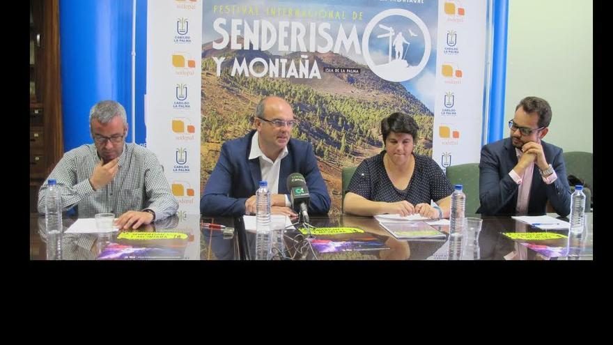 En la imagen, presentación de la séptima edición del Festival de Senderismo y Montaña.