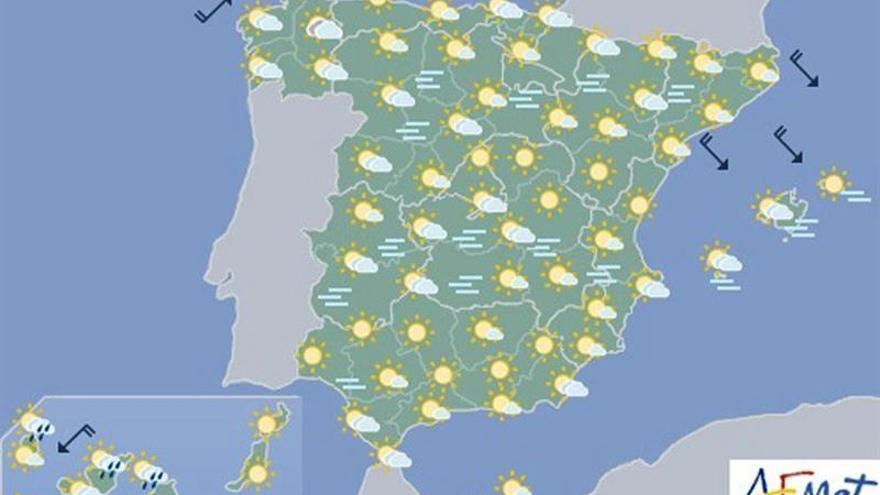 La semana empieza con sol, nieblas en la Meseta norte y frío en el Pirineo