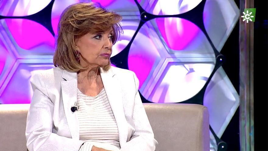 María Teresa Campos en el programa de Canal Sur 'Un año de tu vida'