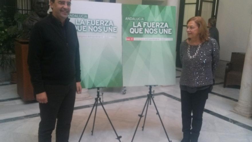 """""""Andalucía, la fuerza que nos une"""" es el lema elegido por el PSOE-A"""