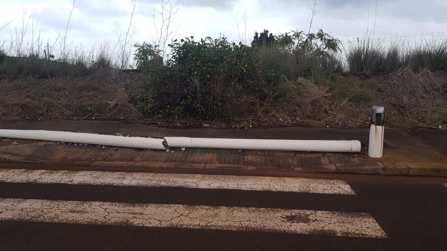 CC de Puntallana denuncia el abandono de la urbanización de Llano Amador