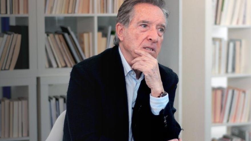 Iñaki Gabilondo, en la redacción de elDiario.es