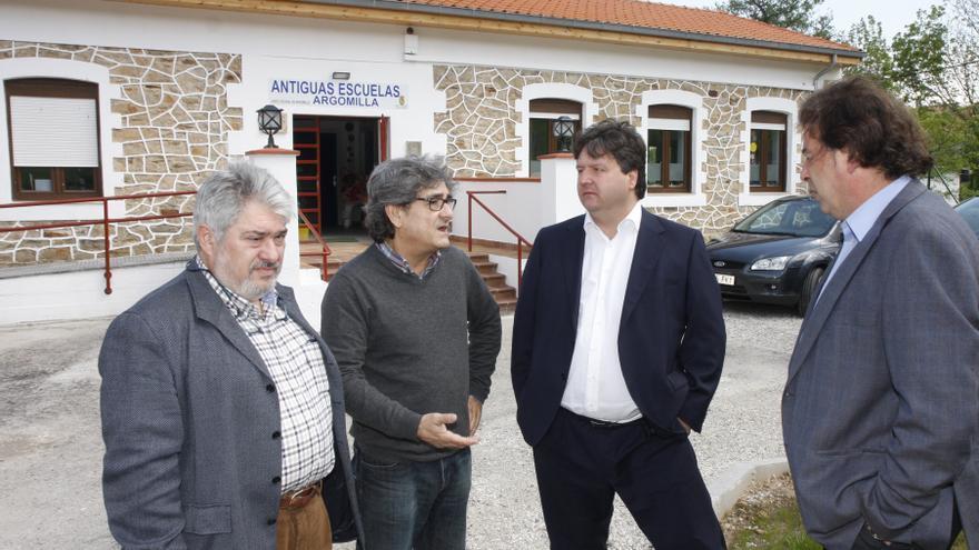 Gastón Gómez, alcalde de Santa María de Cayón (Cantabria)
