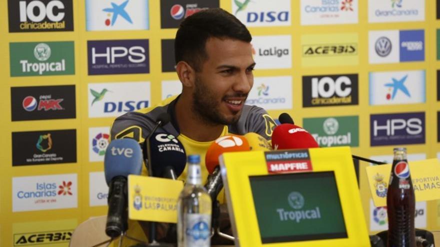 El capitán del equipo amarillo, Jonathan Viera.