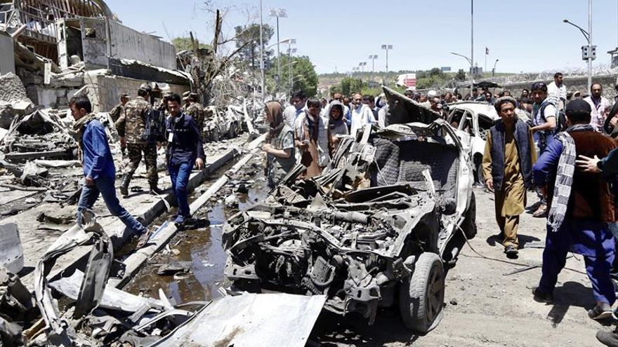 El personal de la embajada española en Kabul no se ha visto afectado por la bomba