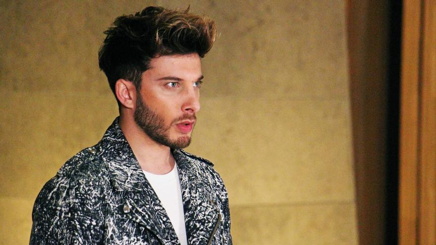 Blas Cantó graba su postal para Eurovisión 2020