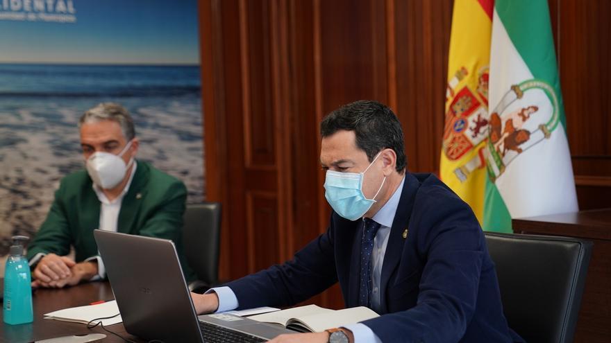 """Moreno: el Gobierno andaluz """"está volcado en conseguir que las playas sean un referente de turismo seguro"""""""