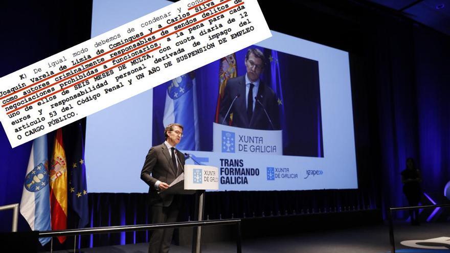 Feijóo en el aniversario del Igape y condena a su exdirector Varela de Limia, cuyo trabajo también agradeció el presidente gallego