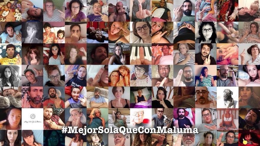 #MejorSolaQueConMaluma