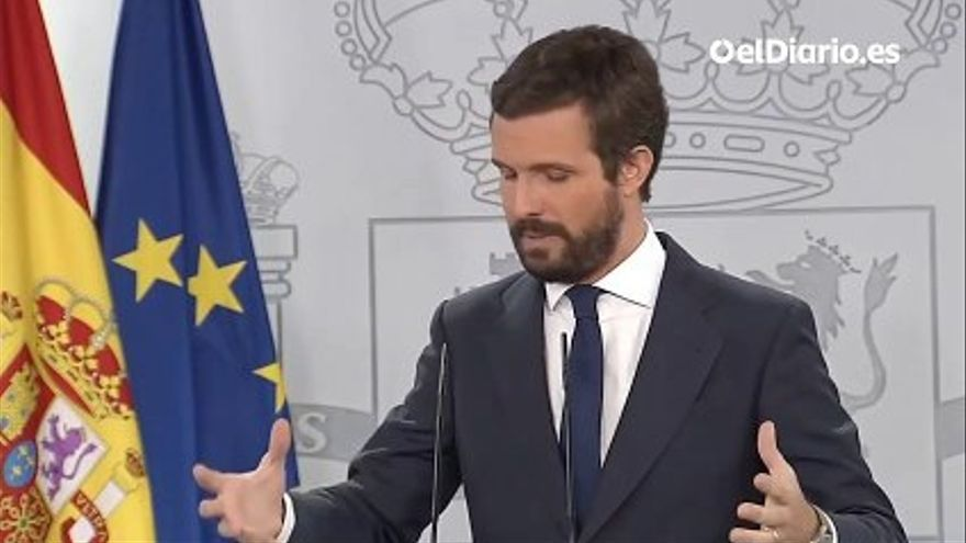 VIDEO |  Casado proposes the creation of a national agency for economic recovery